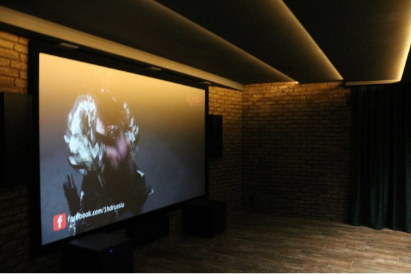 Процесс создания кинозала Dolby Atmos