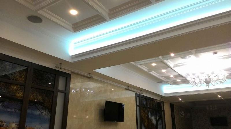 Multiroom в ресторане при отеле